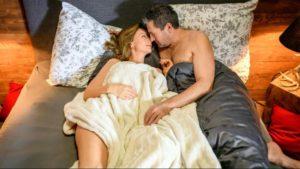 Ariane e Christoph passano la notte insieme, Tempesta d'amore © ARD Christof Arnold