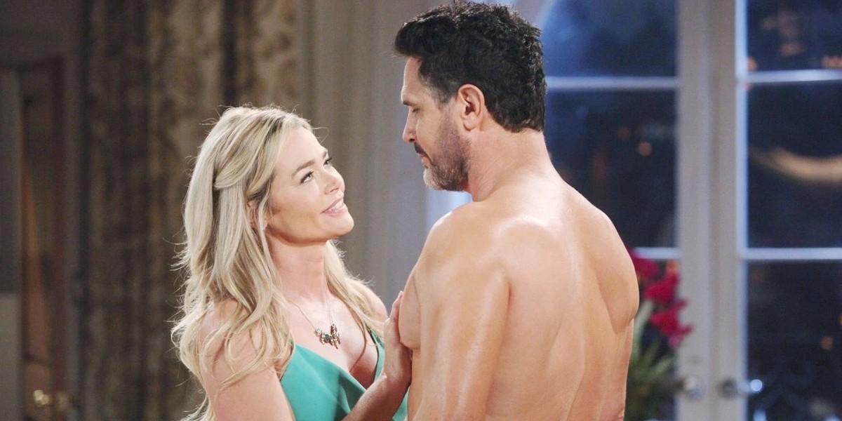 BEAUTIFUL, anticipazioni 28 maggio: BILL e SHAUNA si baciano