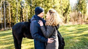 Tim e Franzi con il cavallo Nero, Tempesta d'amore © ARD Christof Arnold