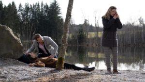 Tim e Franzi soccorrono Nadja, Tempesta d'amore © ARD Christof Arnold
