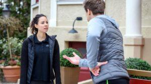 Vanessa e Paul discutono, Tempesta d'amore © ARD Christof Arnold