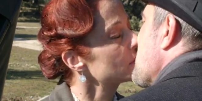 Carmen e Ramon, il bacio