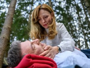 Ariane salva la vita a Christoph, Tempesta d'amore © ARD Christof Arnold