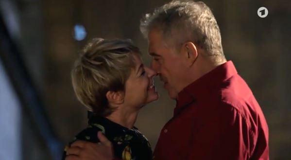 Linda e Andre innamorati, Tempesta d'amore © ARD Screenshot
