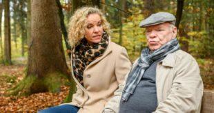 Natascha con suo padre Walter, Tempesta d'amore © ARD Christof Arnold