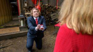 Bela fa a Lucy una proposta di matrimonio,Tempesta d'amore © ARD Christof Arnold