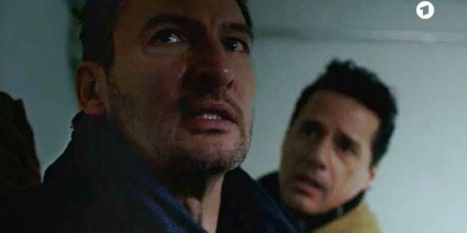 Christoph e Dirk prigionieri, Tempesta d'amore © ARD Screenshot