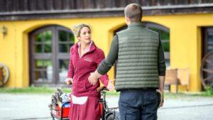 Franzi discute con Tim, Tempesta d'amore © ARD Christof Arnold