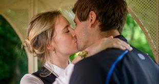 Michelle e Paul si baciano, Tempesta d'amore © ARD Christof Arnold