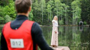 Paul incontra Michelle al lago, Tempesta d'amore © ARD Christof Arnold