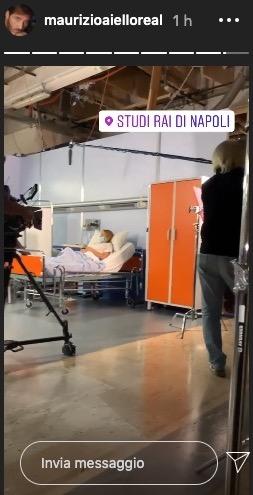 Clara in ospedale / Upas