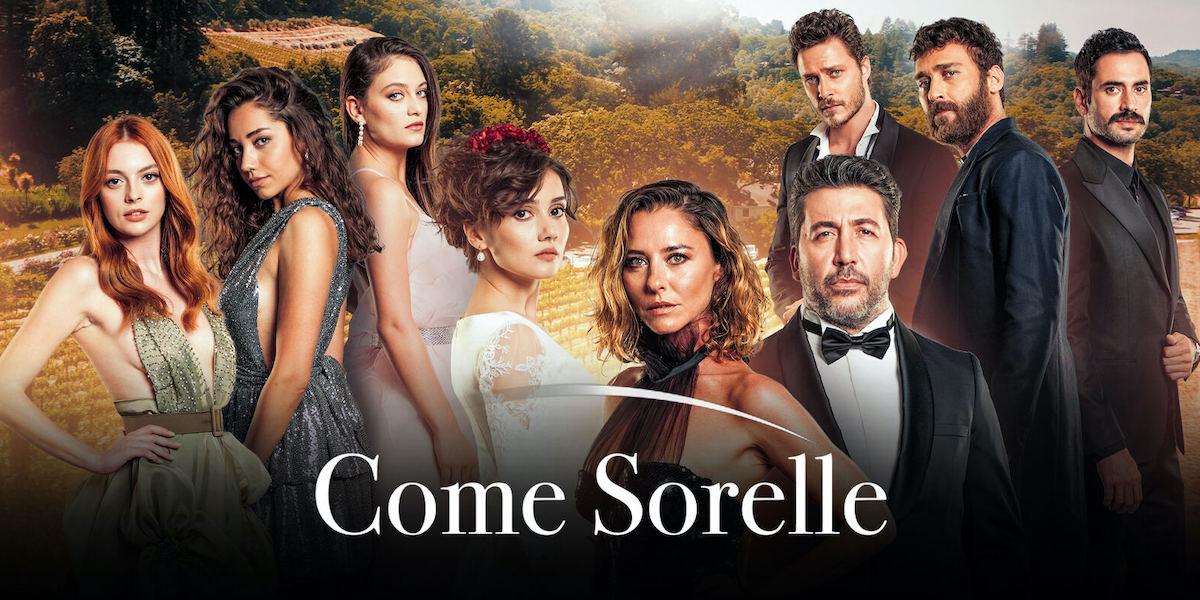 Come sorelle, nuova serie di Canale 5 da stasera. Quante pun