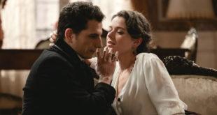 Antonito sedotto da Genoveva nella soap Una vita