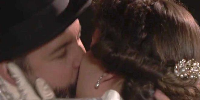 Felipe e Genoveva, il bacio a Una vita