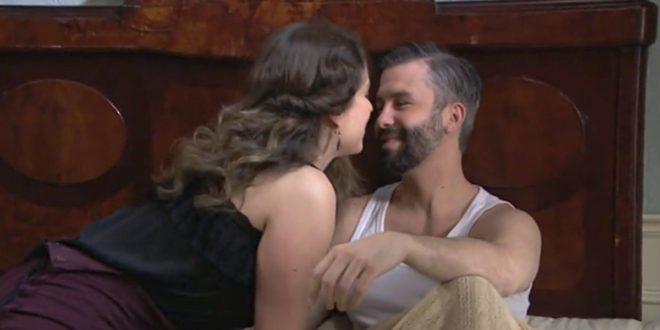 Genoveva in intimità con Felipe nelle prossime puntate di Una vita