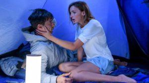 Cornelia bacia Robert per errore, Tempesta d'amore © ARD Christof Arnold