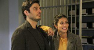 Lino Guanciale e Alessandra Mastronardi in L'Allieva 3 / Copyright foto P. BRUNI