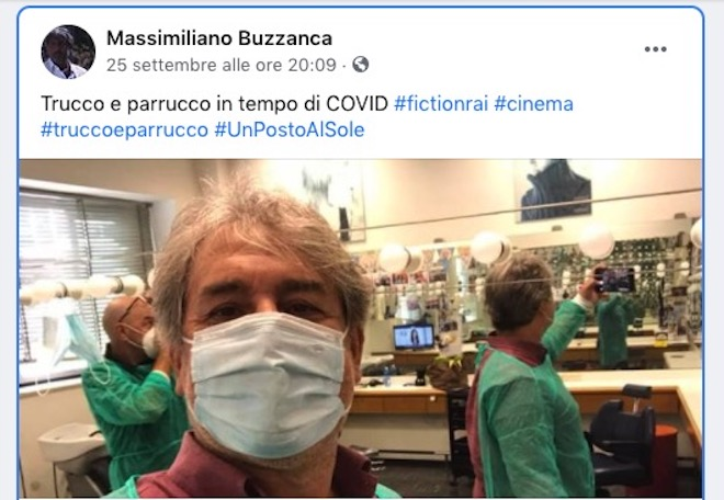Massimiliano Buzzanca a UPAS