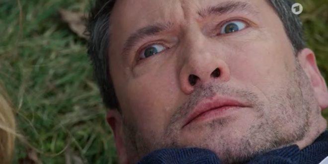 Christoph rischia di essere ucciso da Eva, Tempesta d'amore © ARD (Screenshot)