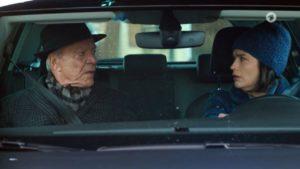 Eva perde il controllo della propria auto, Tempesta d'amore © ARD Screenshot