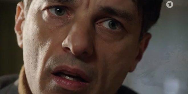 Robert scopre che Emilio non è suo figlio, Tempesta d'amore © ARD Screenshot