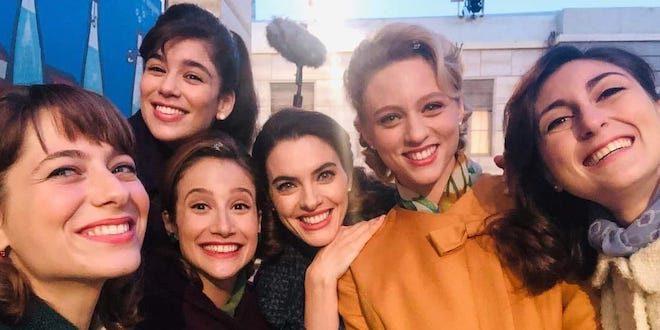 Cast Veneri Il paradiso delle signore 2020-2021 (con Grace Ambrose)