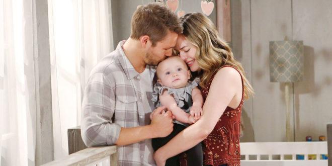 Liam, Beth e Hope di Beautiful