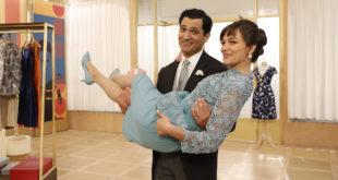 Vittorio e Marta (Alessandro Tersigni e Gloria Radulescu) / Il paradiso delle signore