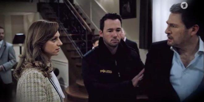 Ariane sogna di far arrestare Christoph, Tempesta d'amore © ARD Screenshot 1 (1)