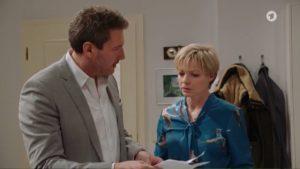 Christoph accusa Linda di averlo tradito, Tempesta d'amore © ARD Screenshot