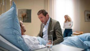 Christoph fa visita a Tim in ospedale, Tempesta d'amore © ARD Christof Arnold