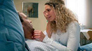 Franzi fa visita a Tim in ospedale, Tempesta d'amore © ARD Christof Arnold
