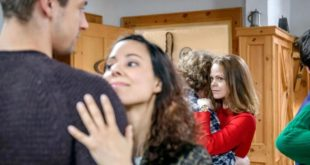 Lucy gelosa di Vanessa e Paul, Tempesta d'amore © ARD/Christof Arnold