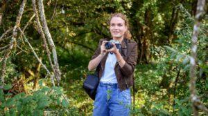 Maja ama fotografare nel bosco, Tempesta d'amore © ARD Christof Arnold
