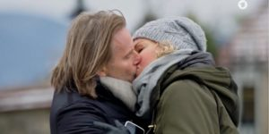 Michael bacia Natascha, Tempesta d'amore © ARD (Screenshot)