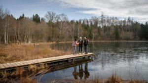 Michael e Natascha si ritrovano al lago e Vanessa li lascia soli, Tempesta d'amore © ARD Christof Arnold