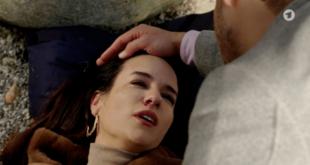 Nadja muore, Tempesta d'amore © ARD Screenshot