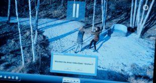 Steffen pensa di cancellare il video che scagiona Franzi, Tempesta d'amore © ARD (Screenshot)