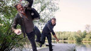 Tim si difende dal suo rapitore, Tempesta d'amore © ARD Christof Arnold