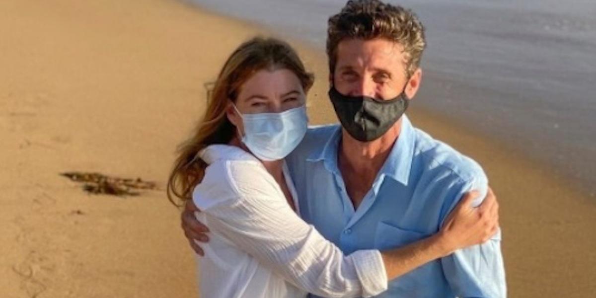 Ellen Pompeo e Patrick Dempsey - Grey's Anatomy