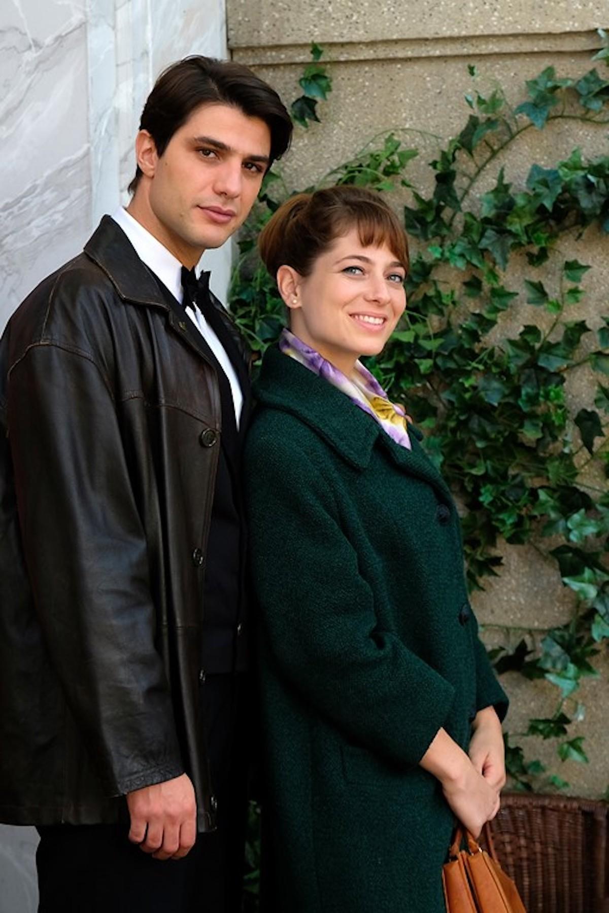 Roberta Pellegrino (Federica De Benedittis) e Marcello Barbieri (Pietro Masotti) de Il paradiso delle signore