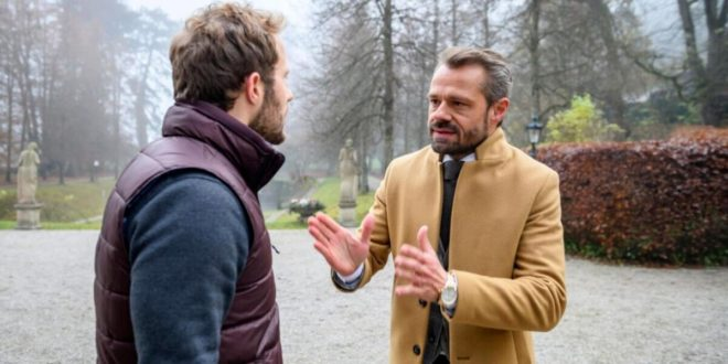 Florian affronta Erik, Tempesta d'amore © ARD Christof Arnold (2)