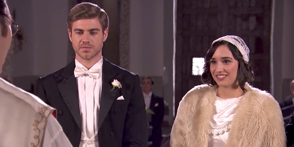 Il Segreto anticipazioni: ROSA e ADOLFO si sposano!
