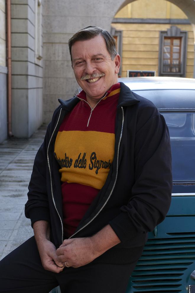 Pietro Genuardi è Armando Ferraris a Il paradiso delle signore