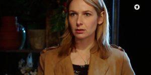 Amelie scopre l'intrigo di Steffen, Tempesta d'amore © ARD (Screenshot) (1)