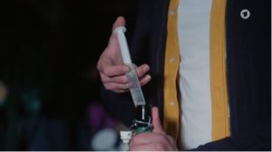Steffen contamina il sidro, Tempesta d'amore © ARD Screenshot