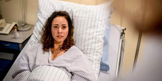 Vanessa scopre che la sua operazione è andata male, Tempesta d'amore © ARD Christof Arnold