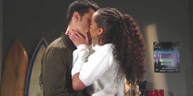 Il bacio di ZOE a THOMAS / Beautiful