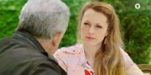André ricatta Rosalie, Tempesta d'amore © ARD (Screenshot)