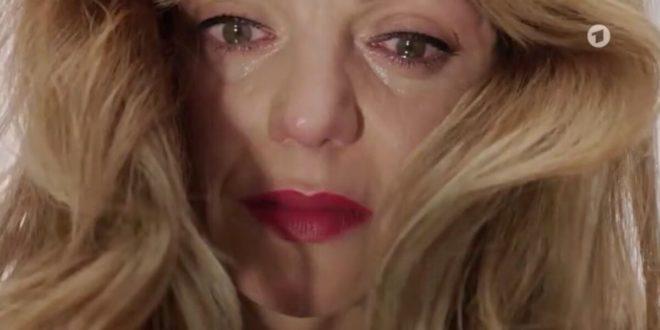 Ariane uccide Karl, Tempesta d'amore © ARD (Screenshot) 2